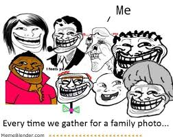 Meme Family - every time we gather for a family photo funny family meme picture
