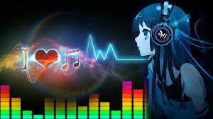 anime music girl wallpaper music headphones girl anime wallpapers