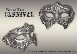 carnival masks 20 carnival masks ps brushes abr vol 1 free photoshop brushes at