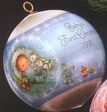 1981 baby s boy nb hallmark ornament at