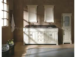 Bathroom With Two Vanities Home Decor Bautiful Bathroom Double Vanities And White Vanity