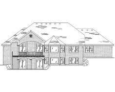 house plan chp 53189 at hillside walkout archives walkout basement basements and house