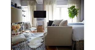 how to make the most of a studio apartment the most stylish studio apartments popsugar home