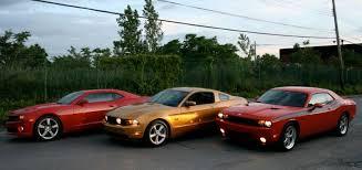 mustang camaro car wars camaro vs challenger vs mustang