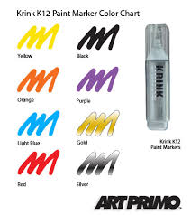 art primo krink k 12 paint marker krink products