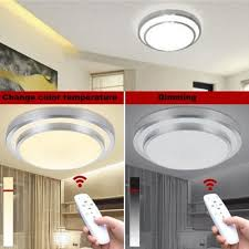 led ceiling lights change color temperature ceiling l 40w smart