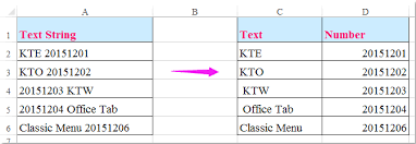 extract number text string excel