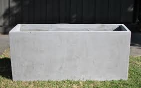 planterboxes lite concrete trough 1mtr