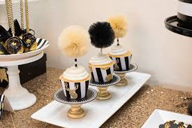 Black And Gold Room Decor Black U0026 Gold Christmas Party Lillian Hope Designs