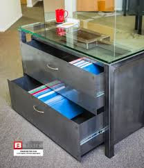 Black 2 Drawer Lateral File Cabinet Black Matte 2 Drawer Lateral File Cabinet Boltz Steel Furniture