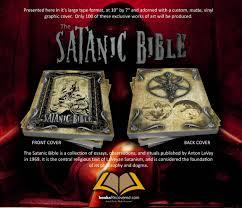 the satanic bible anton lavey custom design by zoom