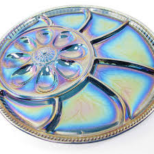 carnival glass egg plate best glass egg platters products on wanelo