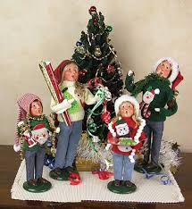 101 best carolers images on caroler figurines and