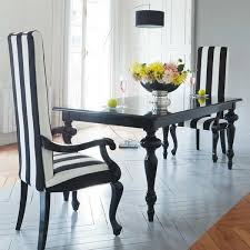 Black White Dining Table Chairs Gallery Design Of Uncategorized Cozynest Home