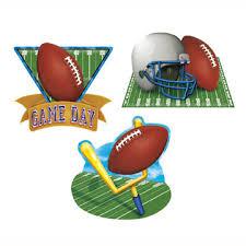 football decorations football decorations party supplies day football cutouts
