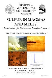 mineralogical society of america sulfur in magmas and melts its