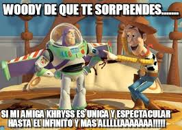Woody And Buzz Meme - woody de que te sorprendes buzz meme on memegen