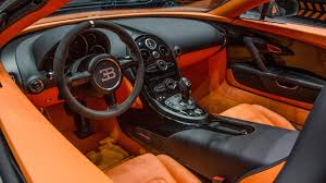 bugatti interior bugatti veyron grand sport vitesse orange and black interior grey