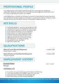 Sample Resume Objectives Tourism by Hospitality Curriculum Vitae Template Operations Analyst Resume