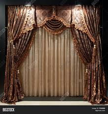 luxurious window curtains image u0026 photo bigstock