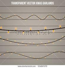 light christmas garland template u2013 merry christmas u0026 happy new