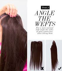 layered extensions how to hide layers using layer blending weft hair extensions