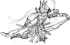 samurai sketch by phantasis on deviantart