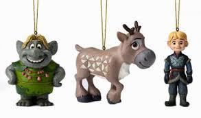frozen ornament set kristoff sven and bulda jim shore from