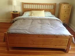 Ikea Hemnes Bed Frame Hemnes Bed Frame Queen Oak Bay Victoria
