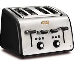 4slice Toasters Buy Tefal Maison Tt7708uk 4 Slice Toaster Stainless Steel