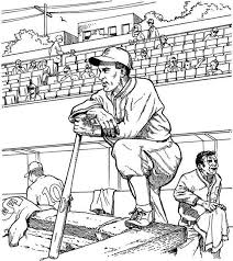 20 baseball coloring pages images colouring