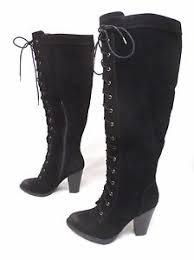 s lace up boots size 9 shoedazzle emilee lace up boots black cb4 size 9 84 95 ebay