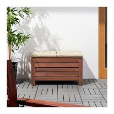 ikea storage bench äpplarö storage bench outdoor ikea