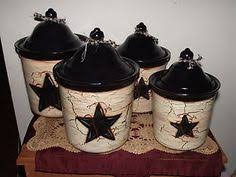 primitive kitchen canister sets country primitive dishes vine dinnerware country decor