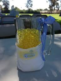 Beer Centerpieces Ideas by Man Shower Beer Mugs Huggies And Chuggies Centerpieces