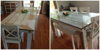 Diy Shabby Chic Kitchen by Home Design Fancy Diy Shabby Chic Table Before And After Home