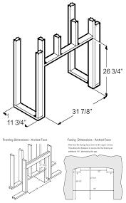 Fireplace Insert Dimensions by 564 Electric Insert Fireplace Xtrordinair