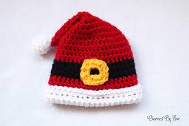 preemie santa hat charmed by ewe
