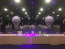 balloons shaped like light bulbs trade show balloons custom balloons and inflatables for events and
