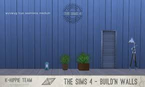 mod the sims 7 wood walls vertical summer colors volume 2
