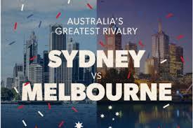 Sydney Meme - sydney vs melbourne australia s greatest rivalry visual ly