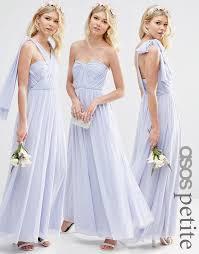 icy blue asos wedding multiway mesh maxi maxi dress on tradesy