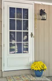 painting your front door the easy way the diy village pbjstories how to paint your front door easy and fast