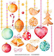 watercolor collection 19 high quality stock illustration