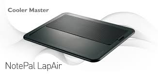 lap desk with fan amazon com cooler master notepal lapair laptop lap desk with