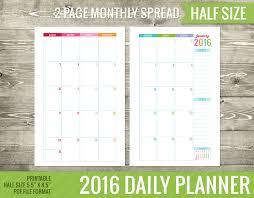 free printable 2016 day planner 2016 calendar printable daily planner 00 pinterest 2016