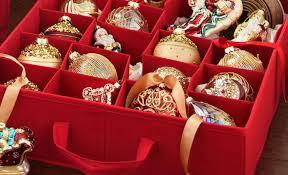 christmas ornament storage box best christmas ornament storage box a cozy home