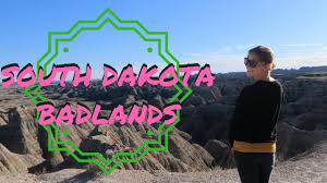 South Dakota travel tech images The badlands of south dakota usa travel vlog jpg