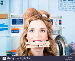 lady laundromat stock photos u0026 lady laundromat stock images alamy