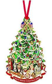 2009 white house tree x ornament